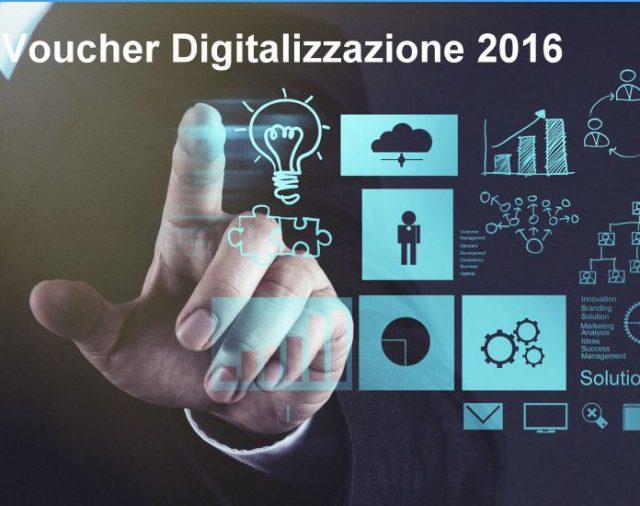Voucher Digitalizzazione 2016