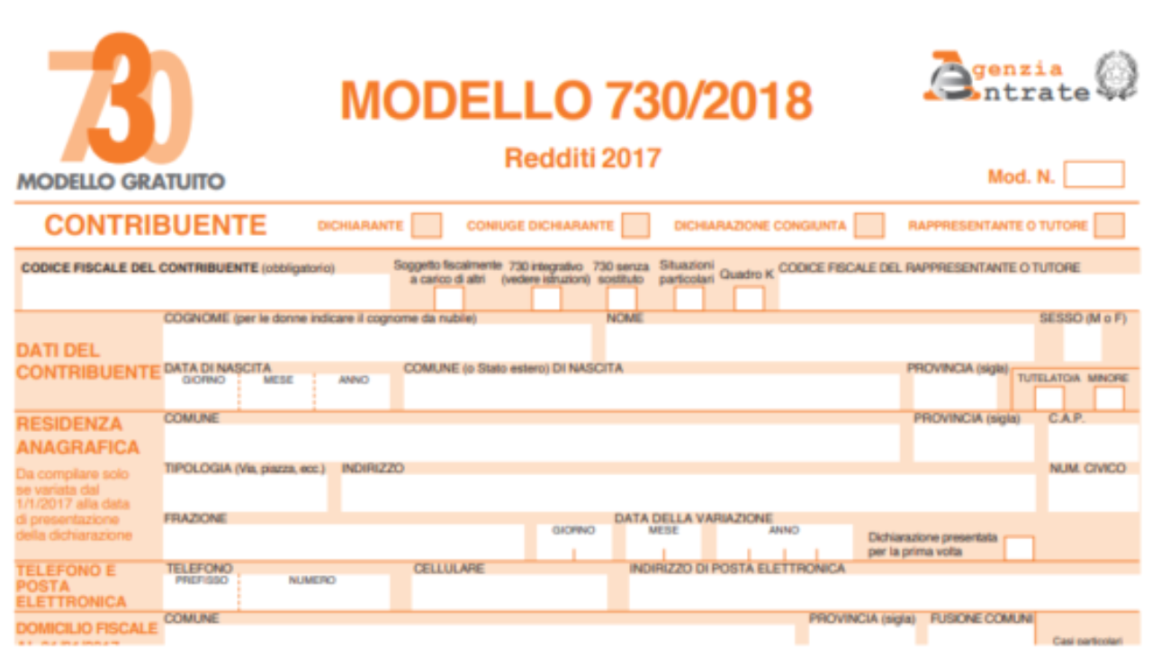 Modello 730 Le Principali Novita Del Fascicolo 3 Di Redditi Pf